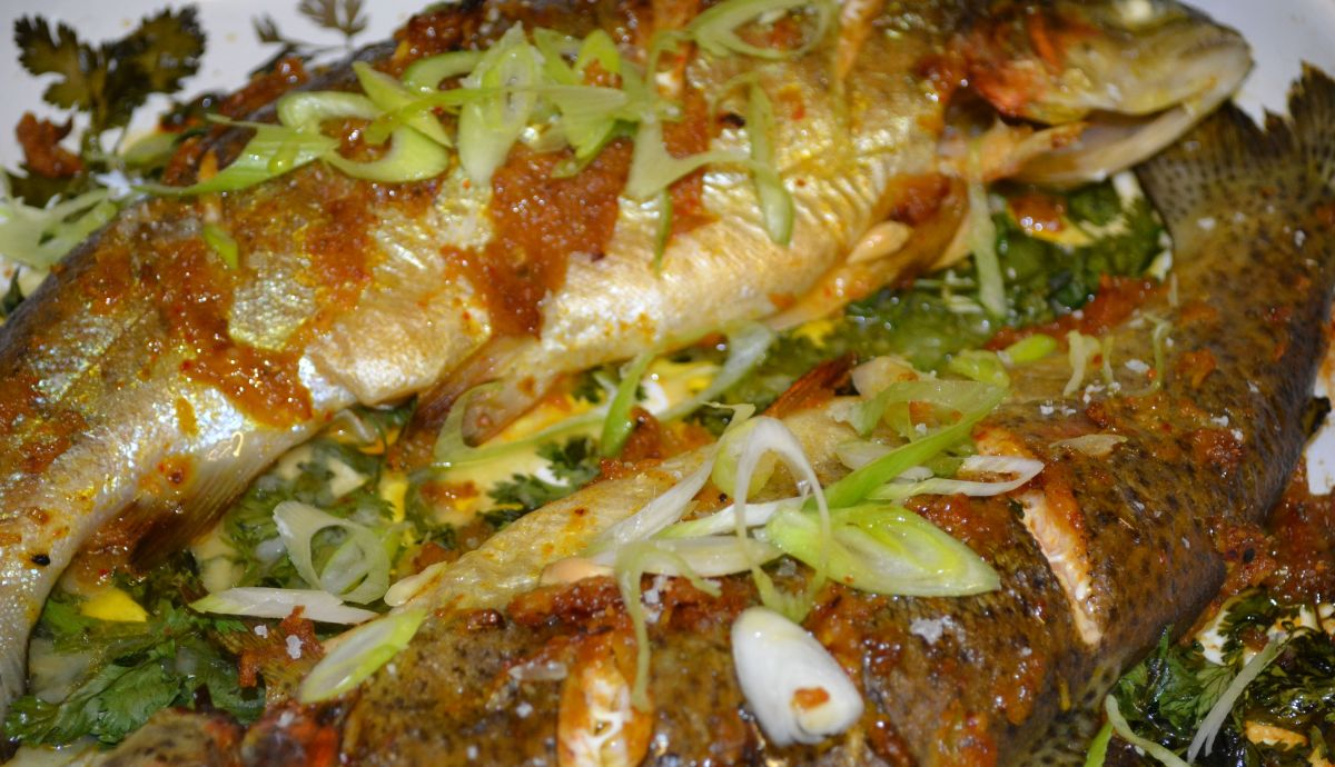 Moroccan-Style Roasted Fish