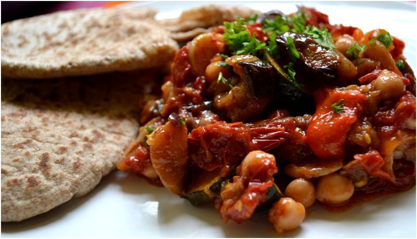 Moroccan Soup Kitchen Chickpea Bake Recipe