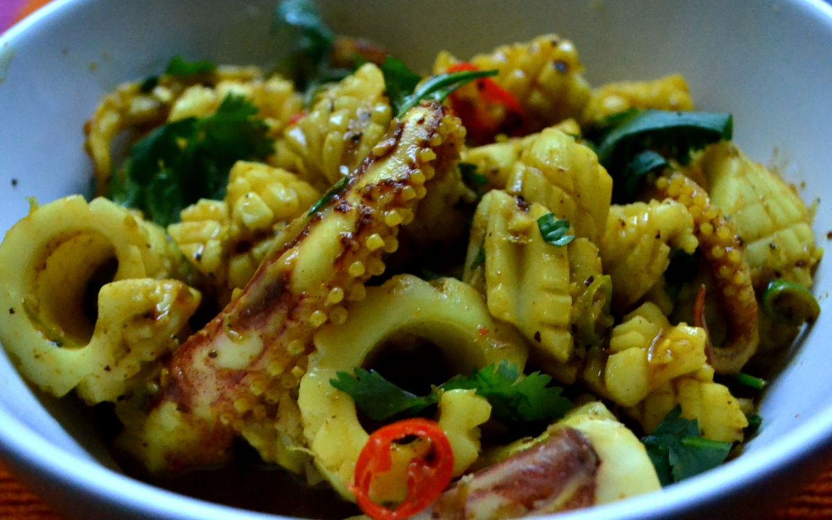 Malaysian Squid Curry