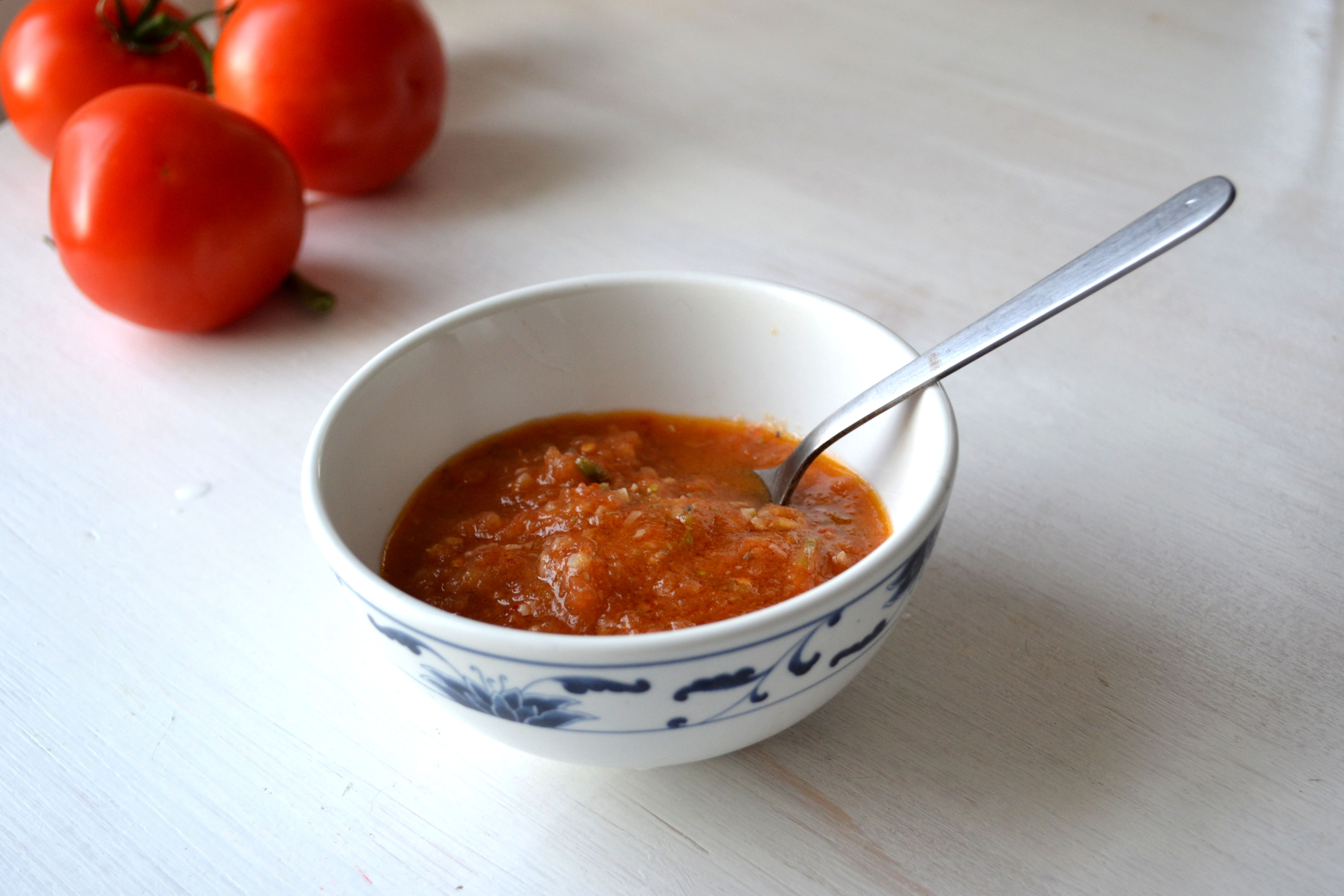Tomato garlic anchovy sauce a sauce for fish susan eats for Sauce for fish