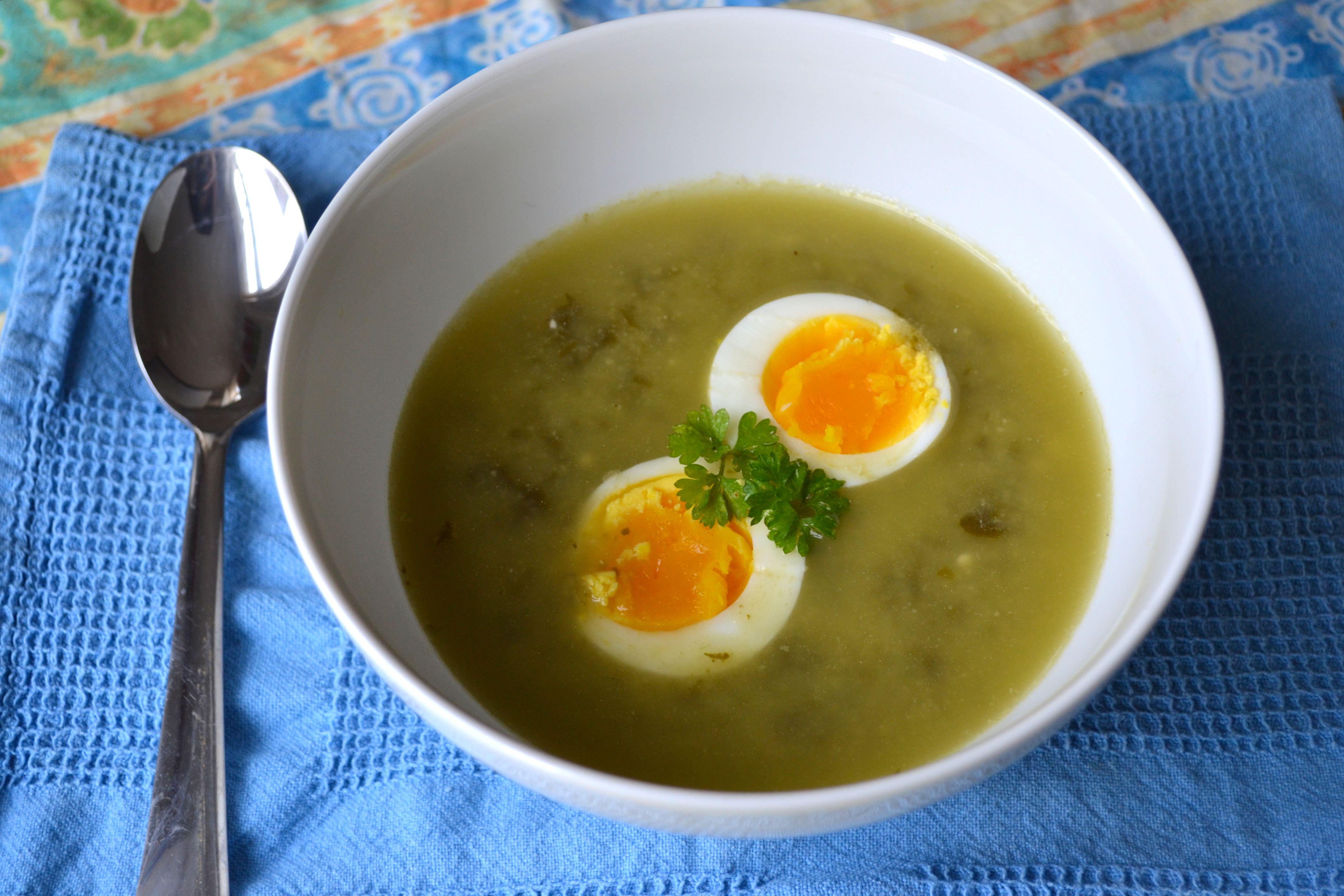 Проверенный рецепт приготовления супа с яйцом, шаг за шагом с фотографиями 14