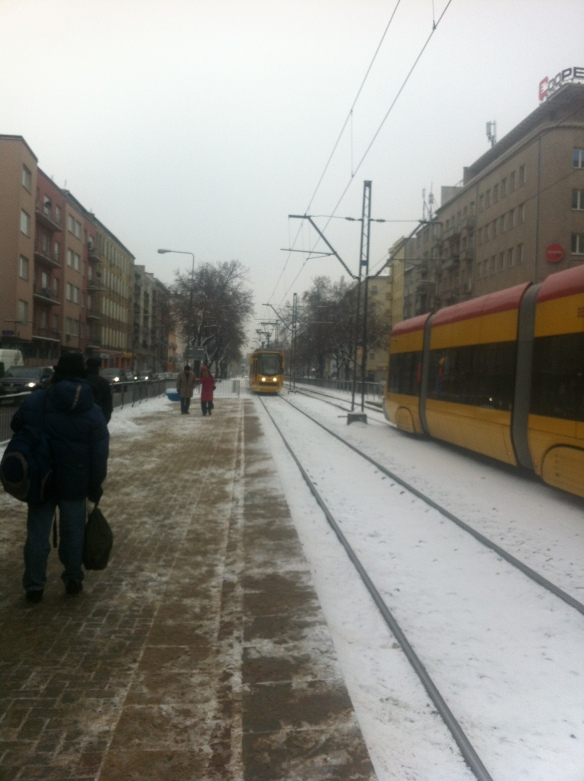 Cold tram line