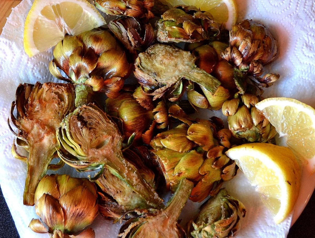 Deep Fried Artichokes (Carciofi alla Giudia)
