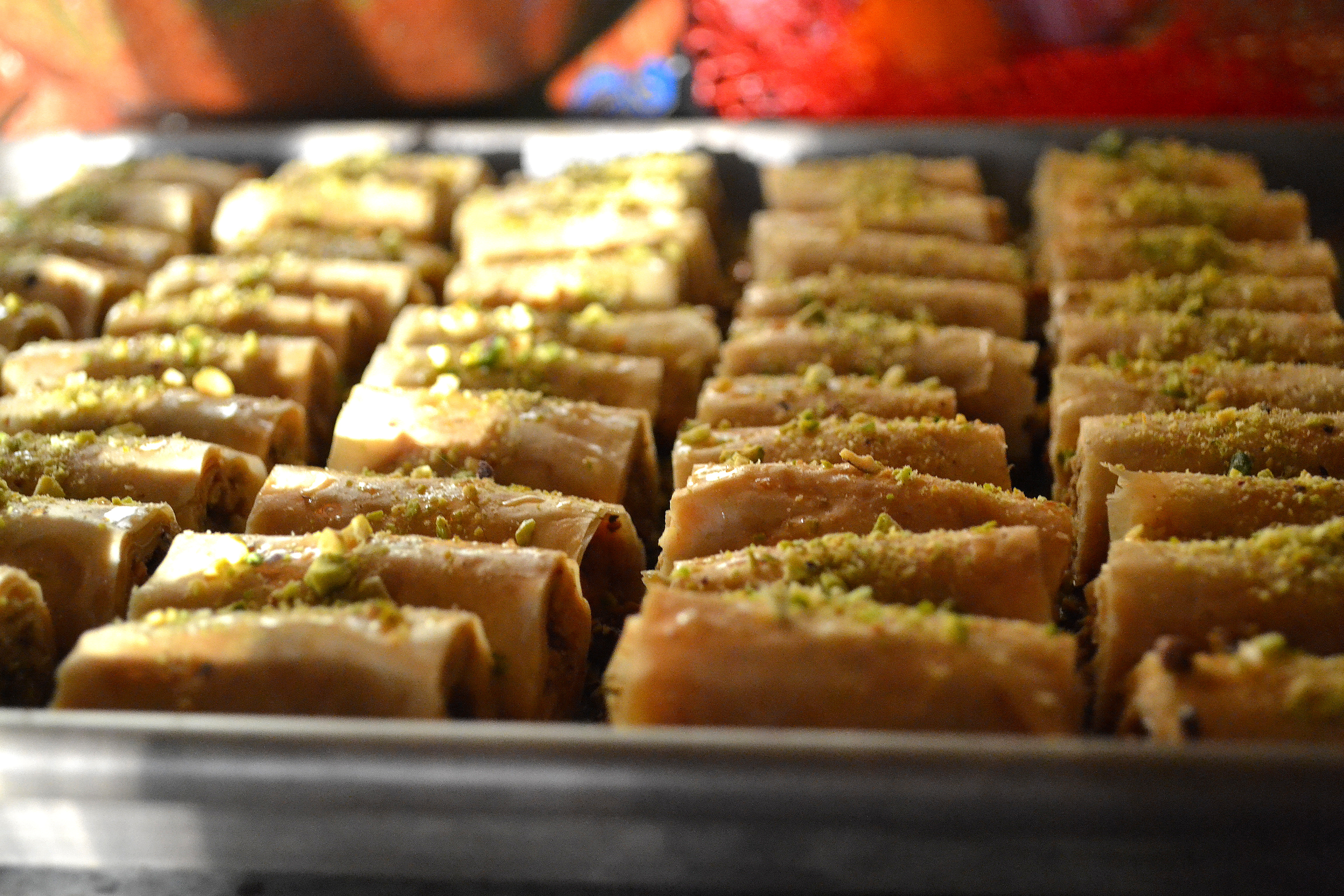 Home» Rose Water & Orange Blossoms Blog – Fresh and Classic Lebanese Recipes» Stories and Recipes» Pastry and Sweets» Lebanese Almond Baklawa Fingers Recipe. These Lebanese almond baklawa fingers are delicate, crisp, and fun to make. They're .