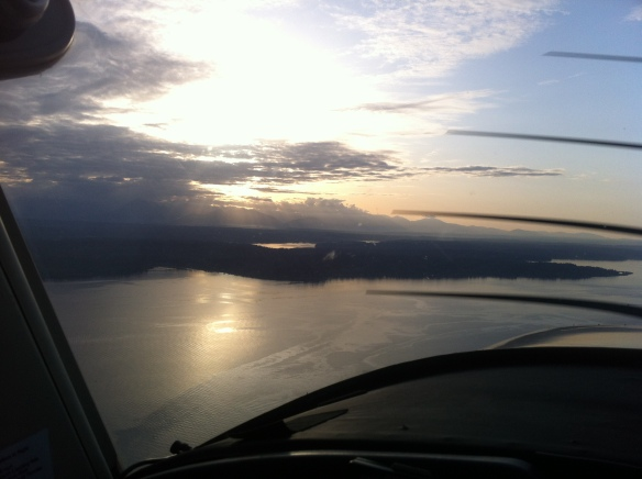 Hood Canal, from above