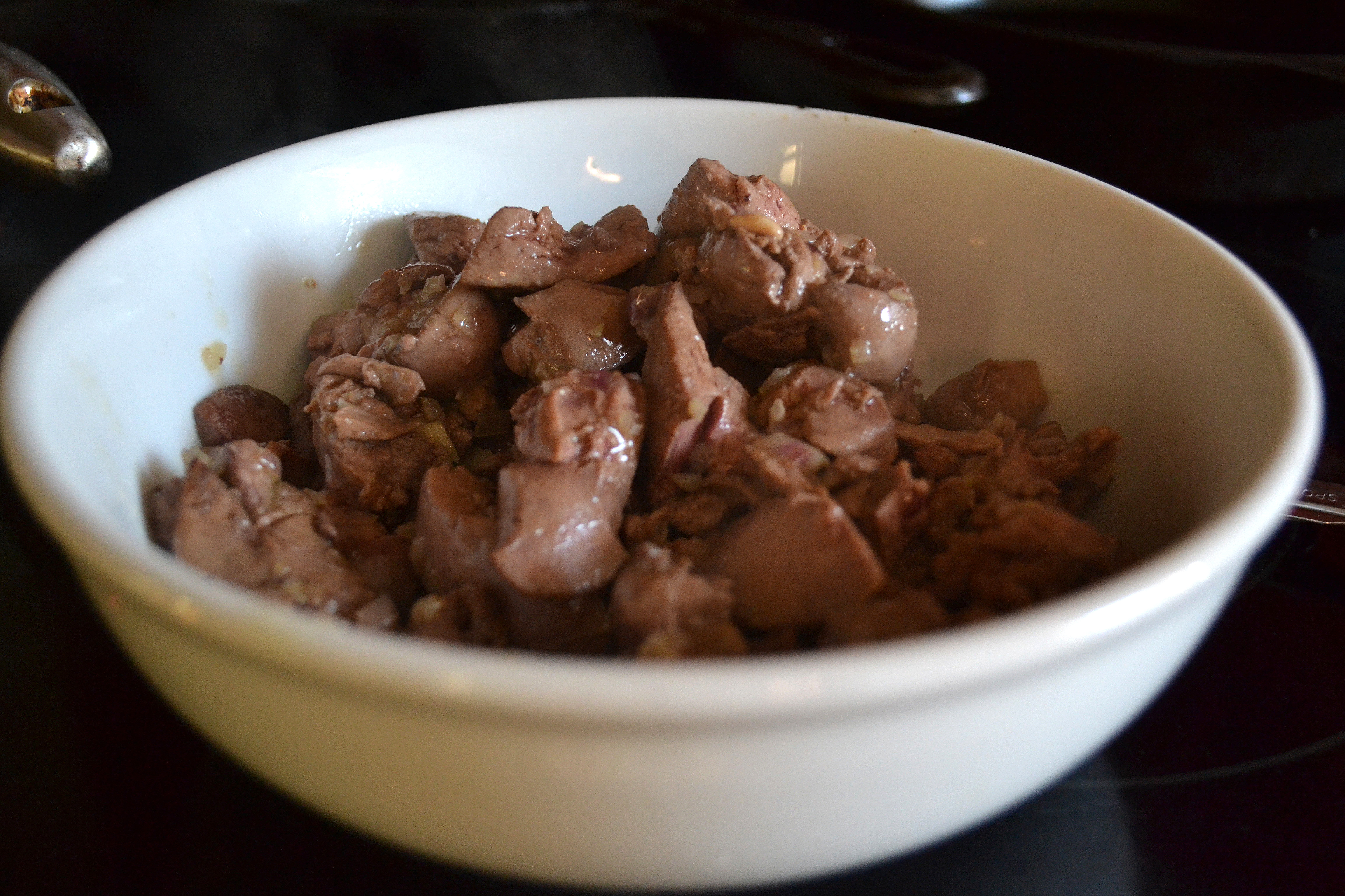 Delicate stewed liver in sour cream, recipe